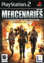 Игра Mercenaries: Playground of Destruction на PlayStation