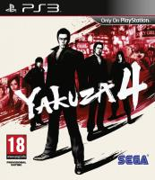 Игра Yakuza 4 на PlayStation
